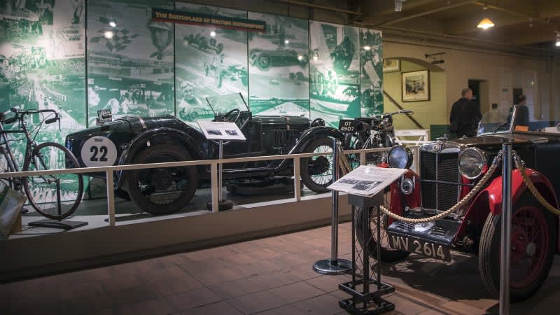 Brooklands Museum: Delightful hodgepodge of British motor history