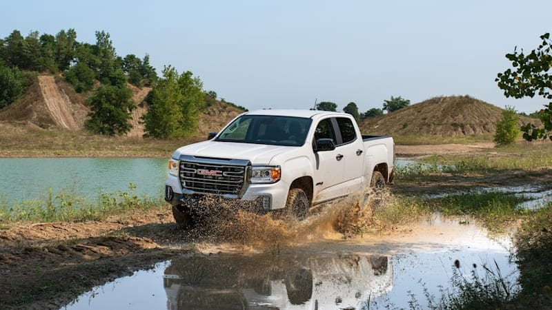 2021 GMC Canyon AT4 Off-Road Performance Edition is ready to hit the trail