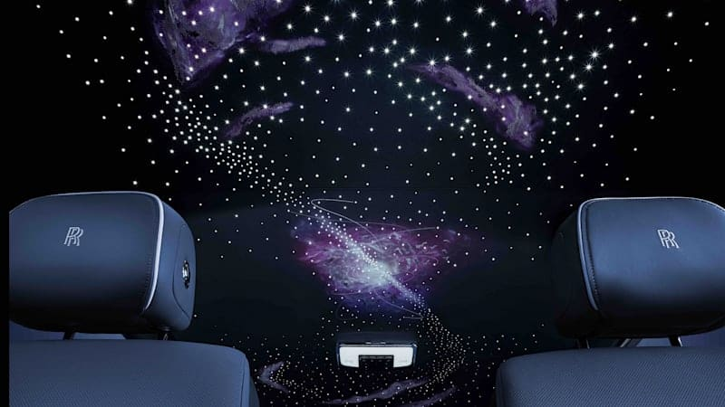 Rolls-Royce Phantom Tempus Collection is inspired by the infinite universe