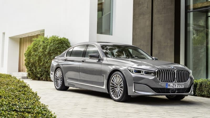Next-gen BMW 7 Series to get three all-electric versions?