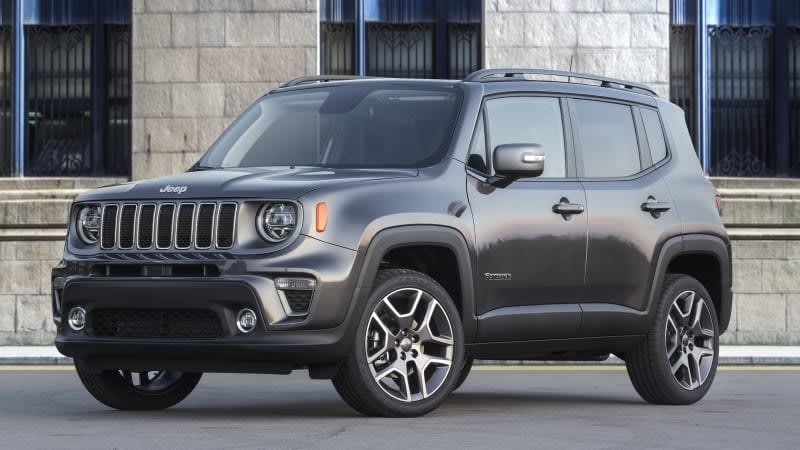 2019 Jeep Renegade, Fiat 500X fuel economy revealed, slightly improved