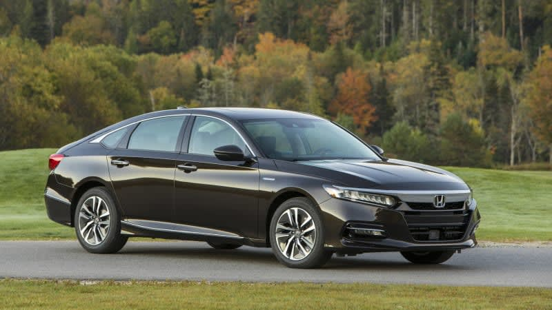 Honda adds sound to 2020 Accord Hybrid's electric mode
