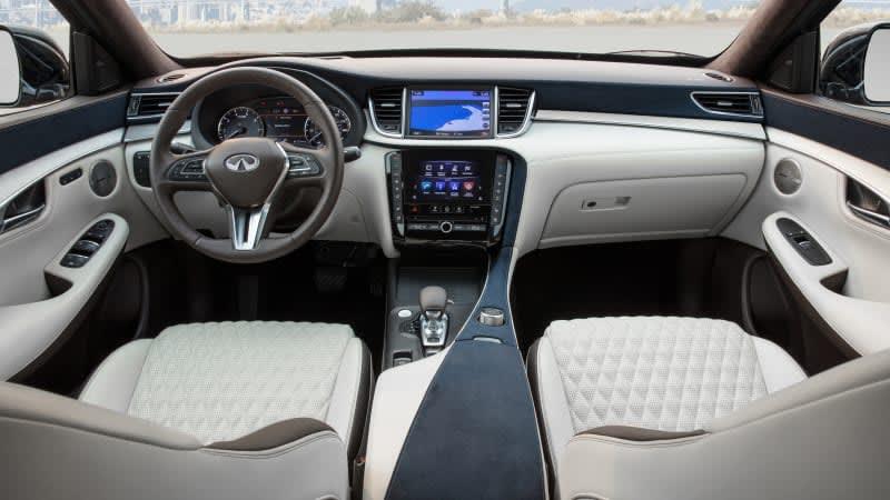 2019 Infiniti QX50 gets fancy-pants Autograph interior