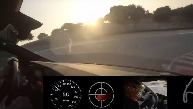 Watch a Tesla Model S Plaid prototype lap Laguna Seca in 1:30.3 seconds