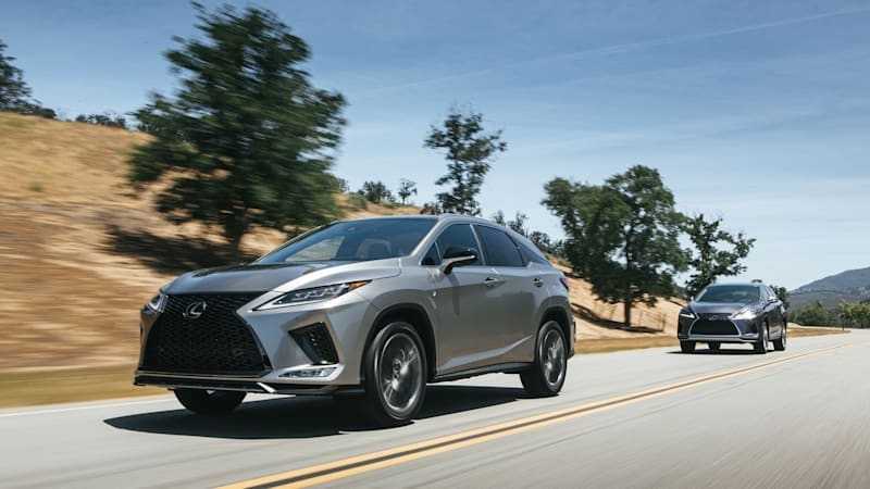 Lexus RX450h+ mysterious patent filing hints at plug-in hybrid