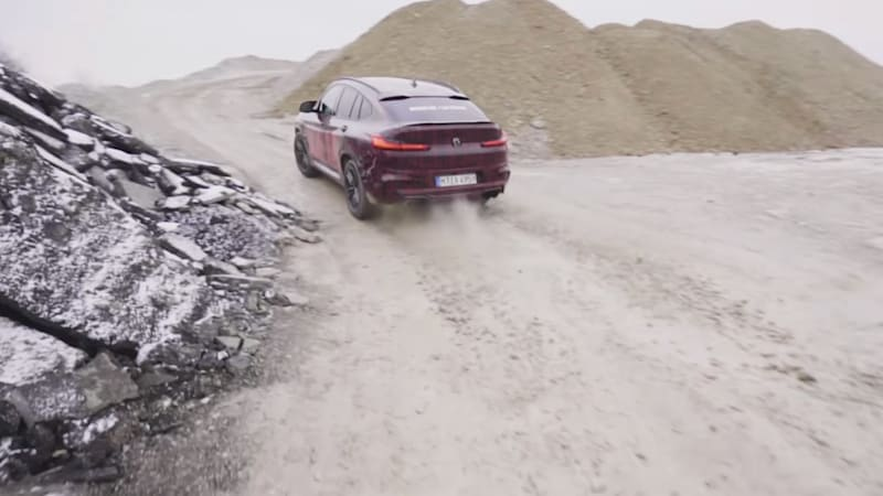 BMW X3 M and X4 M sound good and gnarly in teaser clip
