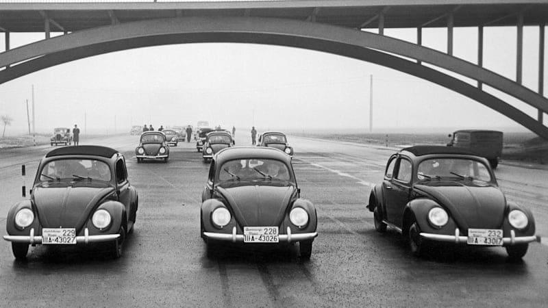 The VW 39 'Pretzel Beetle' prototype was a Porsche pre-production