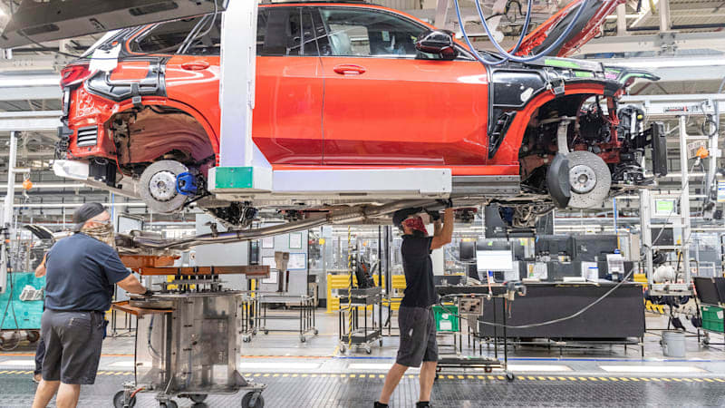 BMW builds its five millionth car in the United States
