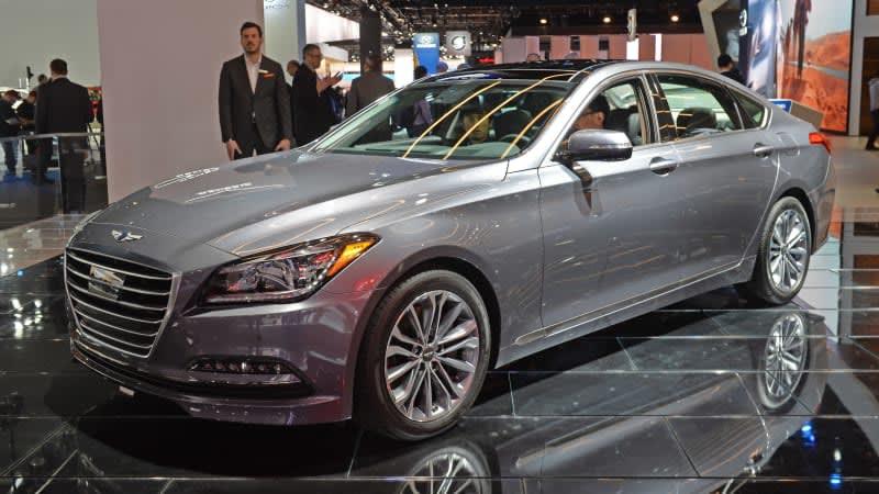 Hyundai planning pure electric Genesis model
