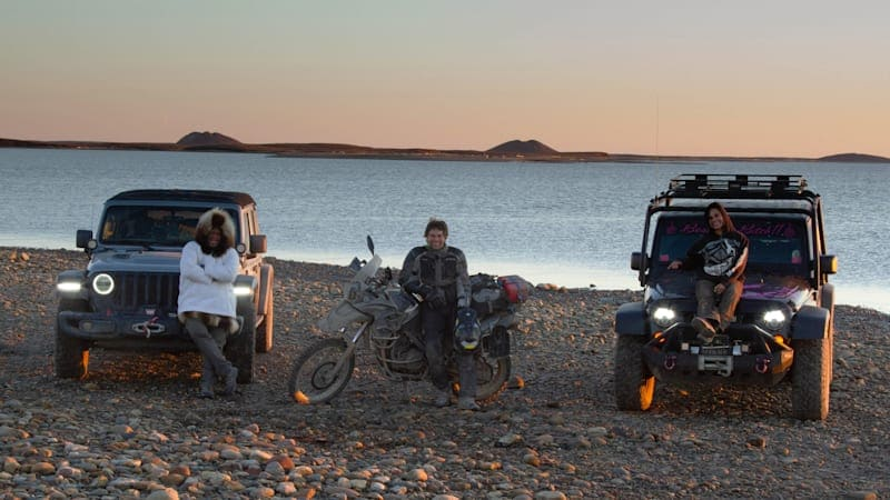 2018 Jeep Wrangler Rubicon Alaska Cannonball | At the edge of the Arctic Ocean