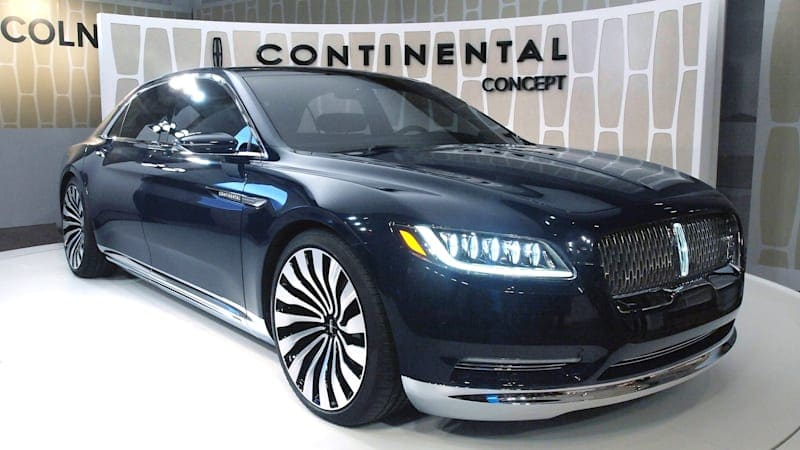 Auto Show Notebook: Legendary Continental name inspired Lincoln's designers
