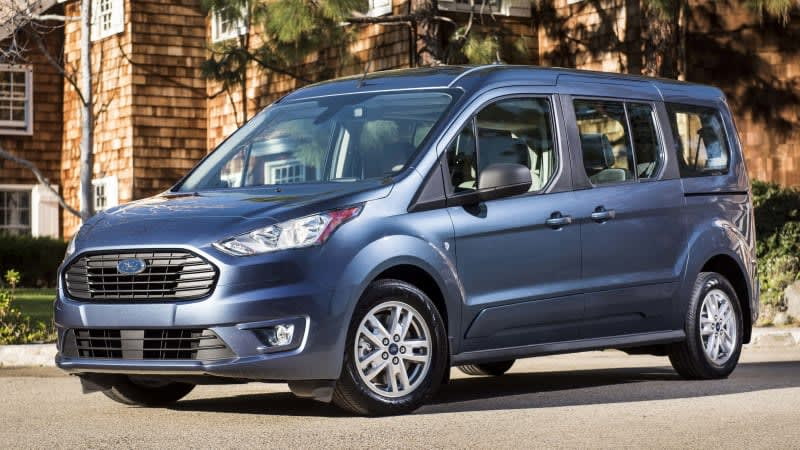 2019 Ford Transit Connect now the most efficient non-hybrid minivan in America