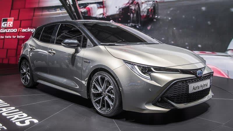 New Toyota Auris, aka Corolla iM, has only one non-hybrid powerplant