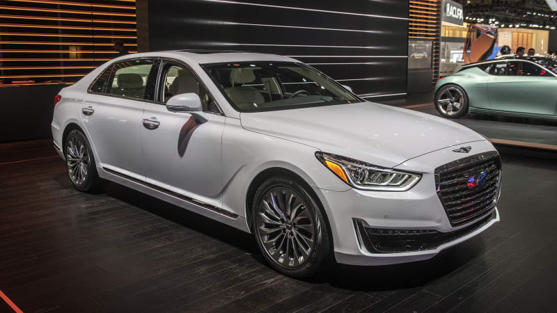 Genesis bringing an EV concept and G90 to New York Auto Show