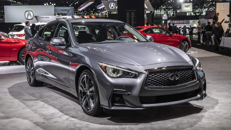 2019 Infiniti Q50 Signature Edition brings its flourishes to New York Auto Show