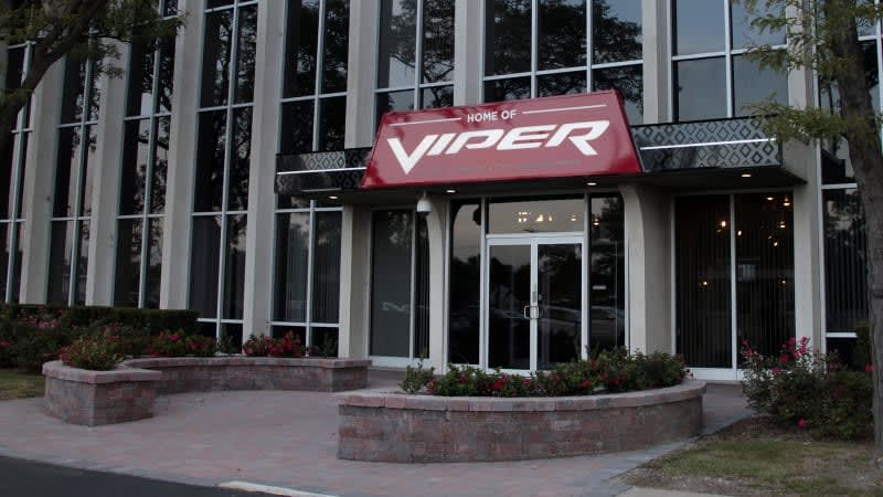 Former Dodge Viper factory will house FCA's historic car collection