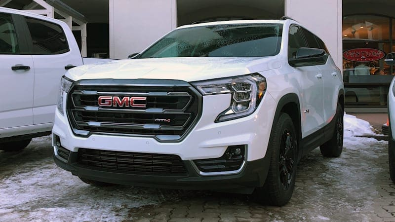 GMC Terrain adds AT4 trim, completing the set