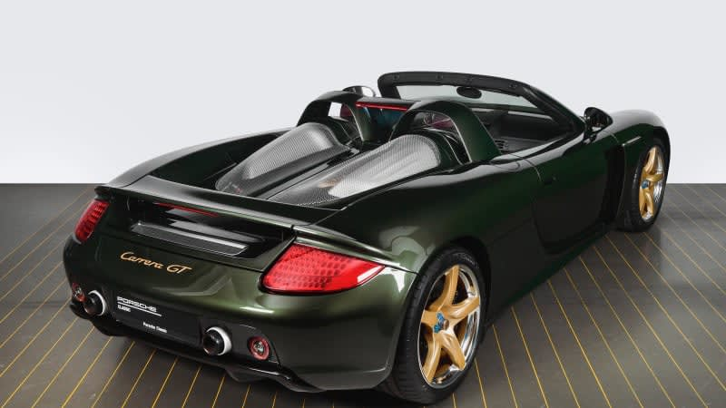 Porsche Carrera GT recommissioned by Porsche and made new again