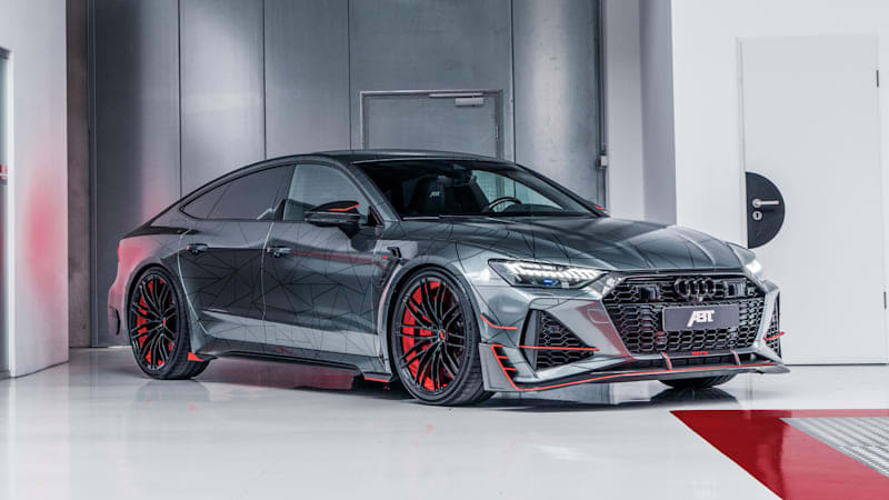 ABT RS7-R makes the Audi RS 7 into a 690-horsepower rocket ship