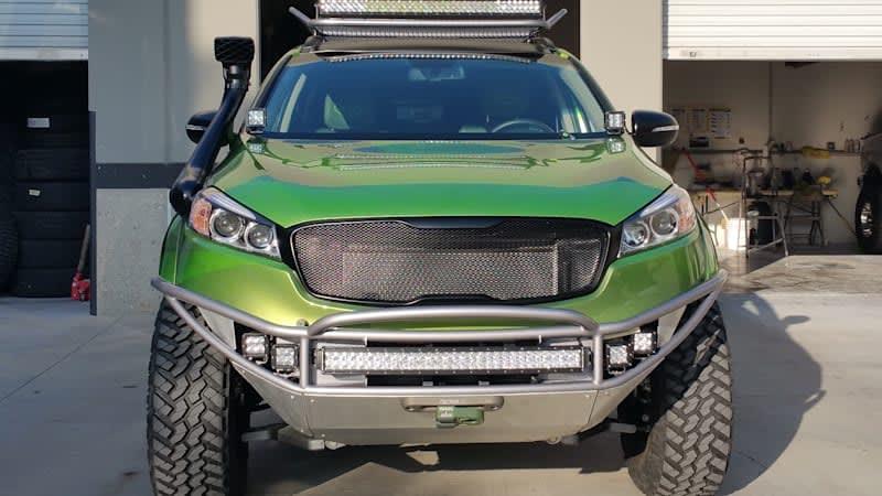 Kia previews off-road Sorento for SEMA