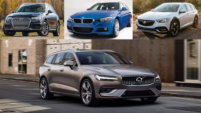 2019 Volvo V60 vs. wagon competitors: How they compare on paper
