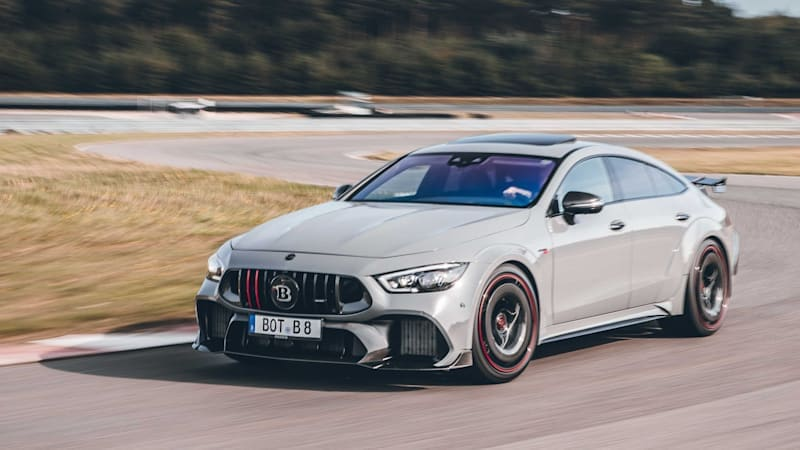 Brabus turns AMG GT 63 S into a wide-bodied, 900-horsepower Rocket