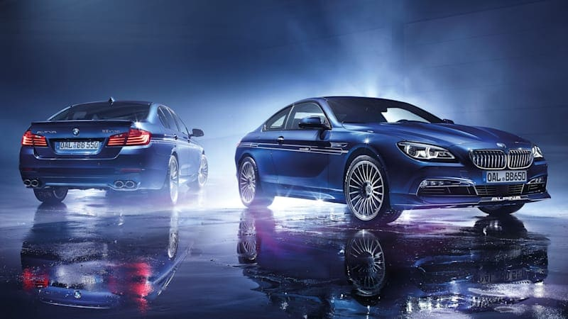 Alpina Edition 50 models boast 204-mph top speed, company's most-powerful V8 ever