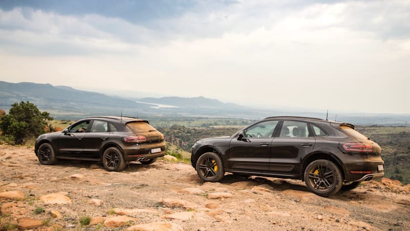 Watch the 2020 Porsche Macan perform high-altitude testing in Africa