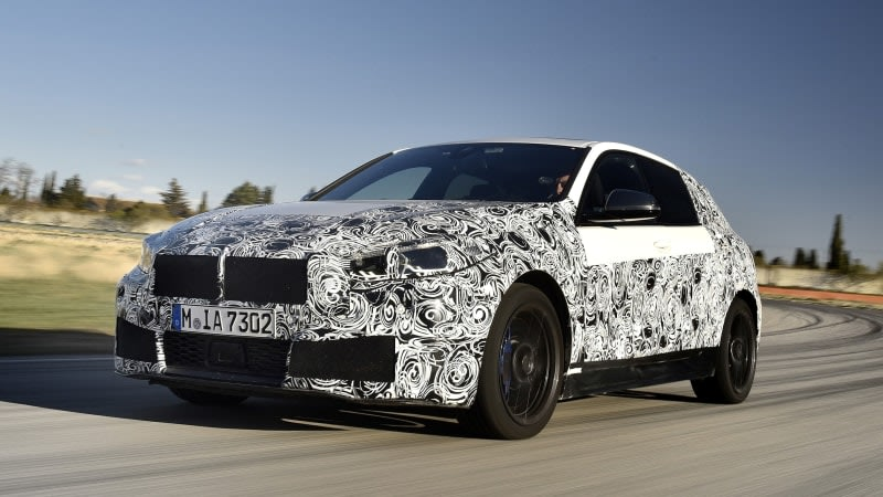 2020 BMW 1 Series: Details and new photos of FWD compact car set to get 306 horsepower