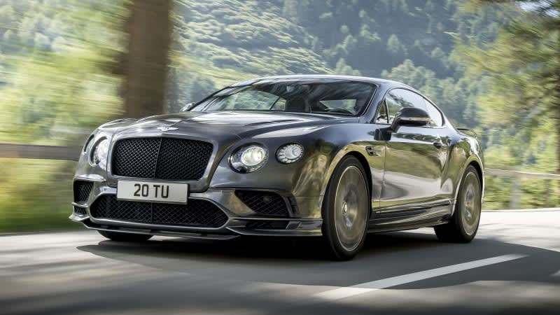 The new Continental GT Supersports is the most powerful Bentley ever