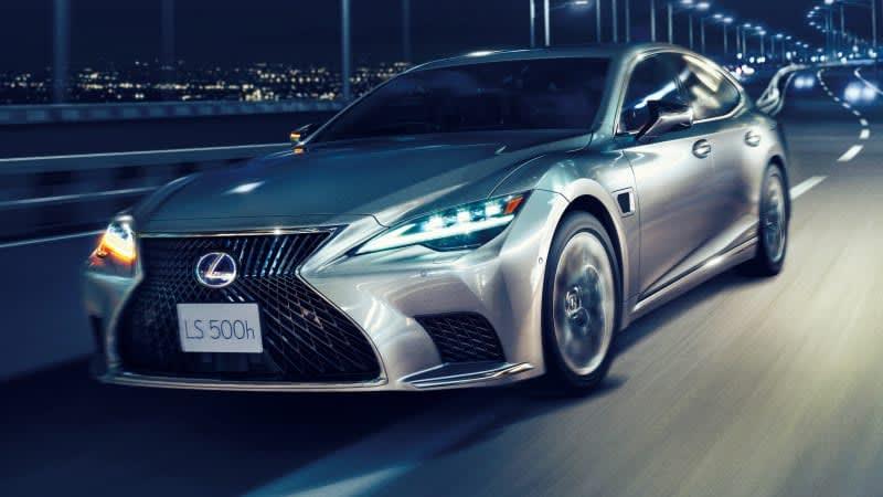 Lexus Teammate advanced driver assist tech headed to 2022 LS 500h in the U.S.
