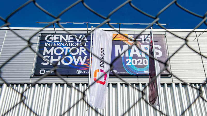 2021 Geneva Motor Show already cancelled and the future beyond is cloudy