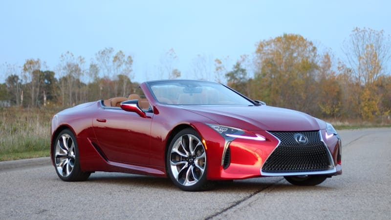 The 2021 Lexus LC 500 Convertible is blissful, motoring beauty