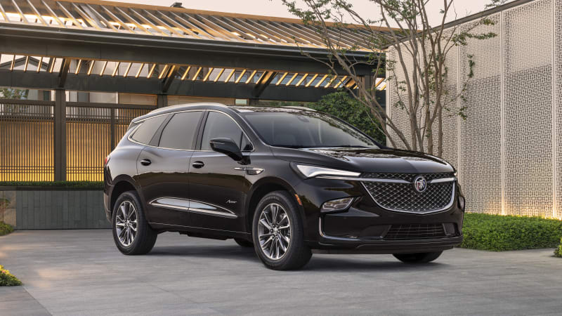 2022 Buick Enclave revealed with a handsome new look