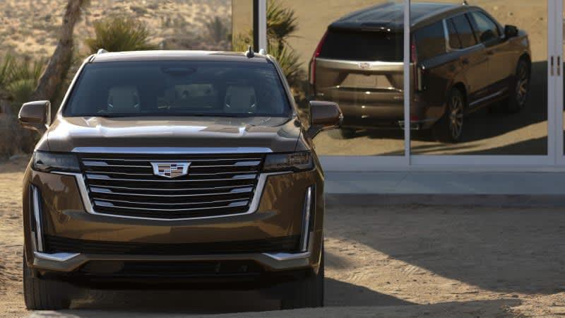 2021 Cadillac Escalade ESV will debut at the New York Auto Show