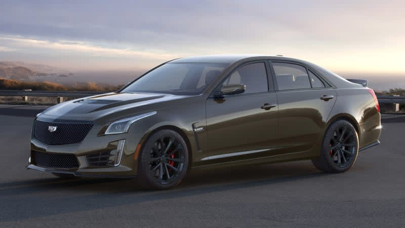 2019 Cadillac ATS-V, CTS-V get cool color, weird name