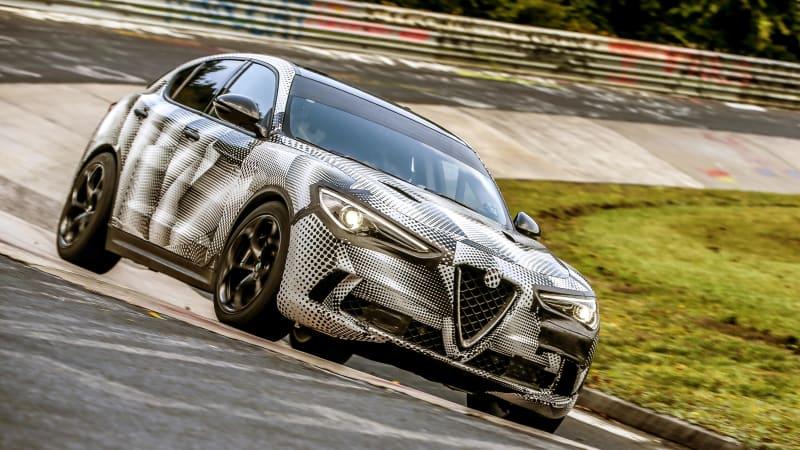 Alfa Romeo Stelvio Quadrifoglio is new SUV king of the 'Ring