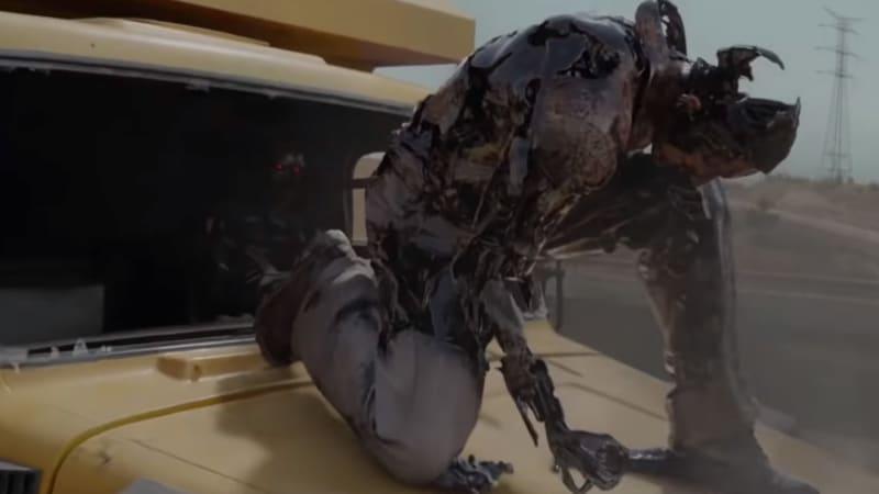 'Terminator: Dark Fate' recreates the 'T2' semi-truck chase