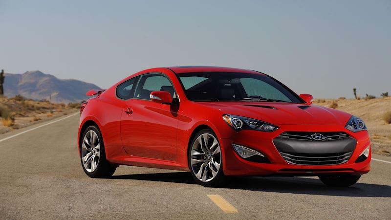 Hyundai dumps Genesis Coupe for upscale model
