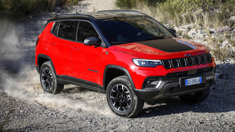 2022 Jeep Compass revealed for Europe with premium interior