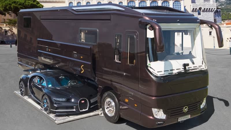 Volkner Performance S is an RV with a Bugatti in its belly
