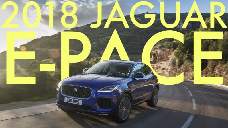 2018 Jaguar E-Pace Video Review | Jag's smallest SUV is a high-priced hit