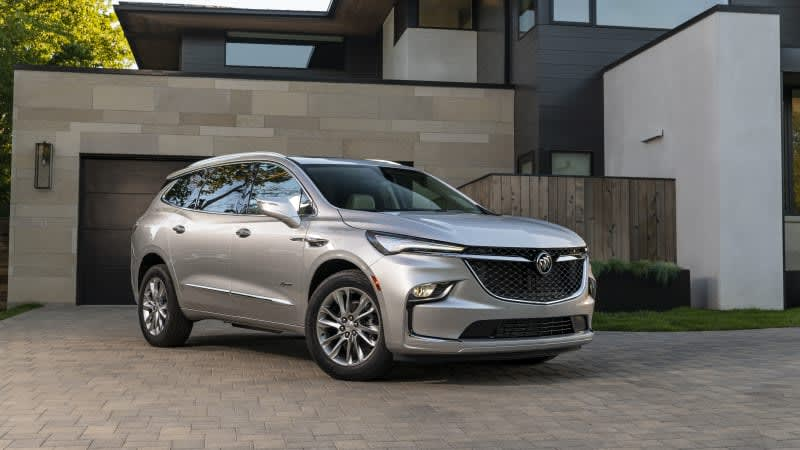 2022 Buick Enclave revealed with refreshed styling, more standard features