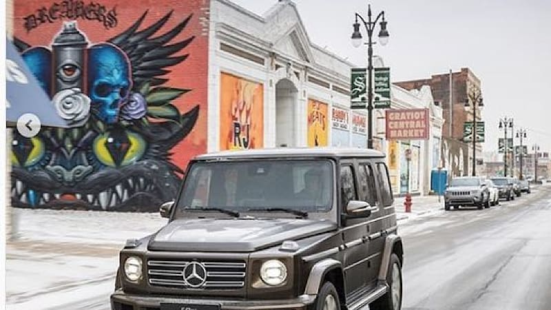 Can Mercedes publish pictures of public murals? It's suing artists in Detroit to find out