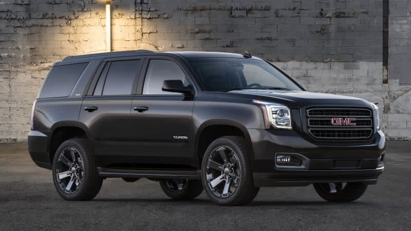 2019 GMC Yukon Graphite Edition offers Denali engine and features without the chrome