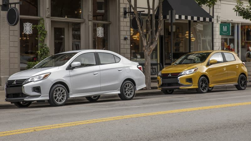 2021 Mitsubishi Mirage and Mirage G4 updated with fresh faces, more tech