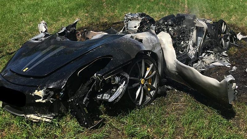 This used to be a Ferrari 430 Scuderia
