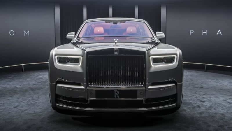 Watch the Rolls-Royce Phantom live reveal