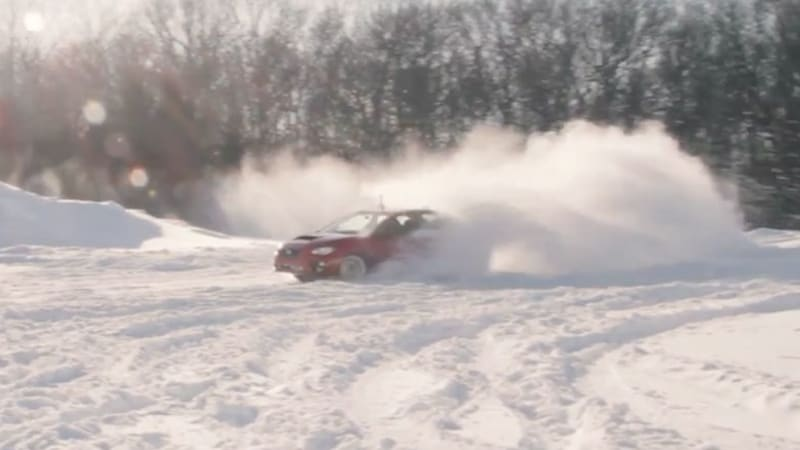 Jalopnik and Consumer Reports see who can pull off the best snow drift