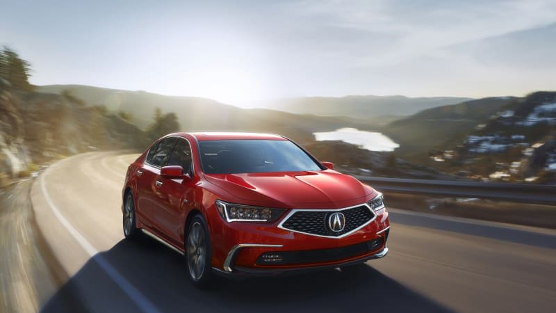 2018 Acura RLX refresh packs a new face and NSX DNA